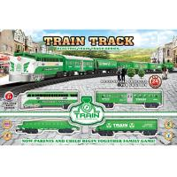 Buy cheap Electric Classic Train Railway Race Set W / Sound For Christmas Gift from wholesalers