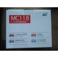 Buy cheap 4G VOIP LTE CPE Router with SIM Card slot, 2 external antenna, 2 RJ11 from wholesalers