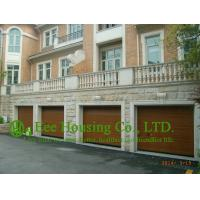 Buy cheap Remote-controlled Galvanized steel Sectional  Garage door For Apartment /Villas,Wood color from wholesalers