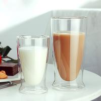 Buy cheap High temperature double walled glass tumbler manufacturer from wholesalers