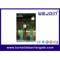 Buy cheap Intelligent Flap barrier integrated with IC Card and 304 stainless steel Housing from wholesalers