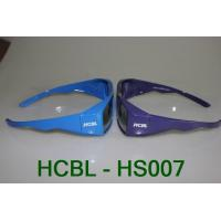 3D Circular Polarized safety glasses purple frame for Master image