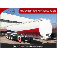 Tri-Axles Fuel Tanker Semi Trailers 6 compartments crude oil tanker trailers