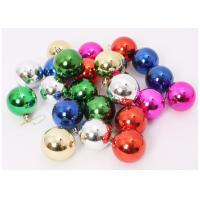 Buy cheap Multi Colors Festival Decoration Items , Clear Plastic Christmas Ball Ornaments from Wholesalers