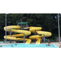 Buy cheap Customized Pool Water Slides For Kids , Fiberglass Small Water Pool Slides from wholesalers