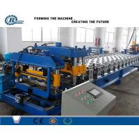 Buy cheap 8.5 Kw Step Tiles Aluminium Roofing Sheet Making Machine For Corrugated Roof Panels from wholesalers