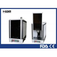Fiber Laser Etching Machine , 20w Metal Etching Machine With Fully Enclosed Cabinet