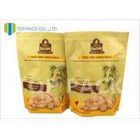 Buy cheap Heat Sealing 6oz Stand Up Food Pouches With Zipper , Customized Logo product