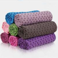 Buy cheap skidless yoga mat towel for sale from wholesalers