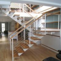 Buy cheap high quality indoor stair 6mm cable railing stainless steel post price from wholesalers