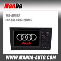 Buy cheap 2 din car stereo for Audi A6 (1997-2004) car multimedia system satellite gps in-dash dvd from wholesalers
