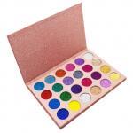 Buy cheap Brightening Eye Makeup Eyeshadow High Pigment 24 Colors Waterproof Longlasting from wholesalers