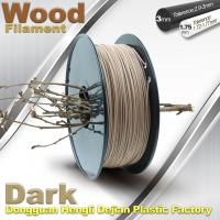 Quality Anti Corrosion Wooden Filament For 3D Wood Printing Material 1.75mm / 3.0mm for sale