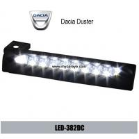 Buy cheap Dacia Duster DRL LED daylight driving Lights auto front light retrofit from wholesalers