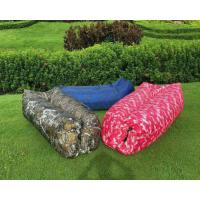 Buy cheap Air Inflated Sleeping Bag Camping Air Sofa Sleeping Beach Bed Air Bed Square sofa from wholesalers