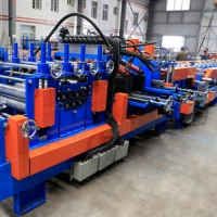 Buy cheap Shaft 80mm Thickness 1.5 3.5mm C Purlin Roll Forming Machine from wholesalers
