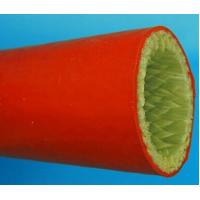 Buy cheap Silicone Resin fiberglass sleeve/ Big size silicon rubber fiberglass sleeves from wholesalers