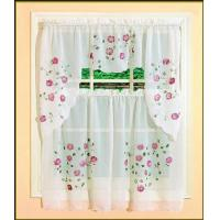 Buy cheap 52 X 14 Small Flower 12 Grommet Blackout Curtains For Kitchen Window from wholesalers