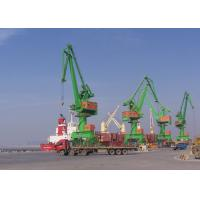 Buy cheap Level Luffing Portal Mobile Harbour Crane 10 Ton - 120 Ton With ISO FEM JIS Standards from wholesalers