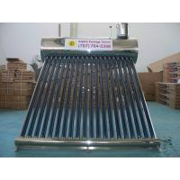 Buy cheap Pre-heated pressurized solar water heater & Solar Water Heating from wholesalers
