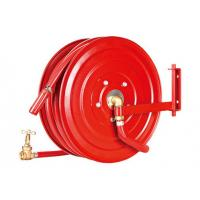 Buy cheap Swivelling Fire Extinguisher Hose Reels , Fire Fighting Equipment For Garden from wholesalers