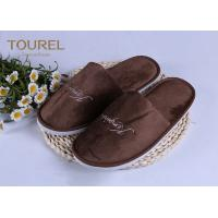 Buy cheap 100% Cotton Disposable Luxury Hotel Slippers Star Hotel Guest Slippers from wholesalers