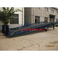 Buy cheap 8t Man Manual Control Mobile Loading Ramp Safety Adjustable Movable Dock Ramp from wholesalers