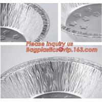 Buy cheap Disposable Durable Aluminum foil Take-Out Containers,Household aluminum foil container manufacture,aluminum foil food co from wholesalers