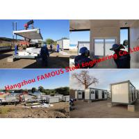 Buy cheap Modern Steel Frame Modular &Prefab Container Homes For Site Office And Temporary Accommodation from wholesalers
