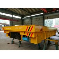 Buy cheap Sand mold handling rail transfer wagon applied in the foundry plant from wholesalers