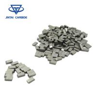 Buy cheap Tungsten Carbide Yg8 Tungsten Brazed Carbide Tips , Carbide Saw Tips from wholesalers