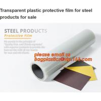 Buy cheap Custom self adhesive plastic protective film for floor/Profilm/glass,pe film watch strap protection custom printing from wholesalers