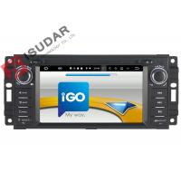 China 6.2 Inch Car Dvd Player GPS Navigation , Android Auto Head Unit For JEEP / Chrysler / Dodge on sale