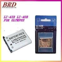 Buy cheap New Digital Camera battery LI-42B LI40B LI-40B for Olympus Stylus 720 710 Mju 780 770 from wholesalers