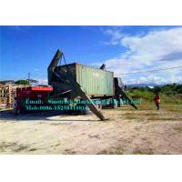 Buy cheap Self Loading Container Trailer Cargo Handling Equipment In Port 37 Ton Capacity product