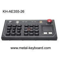 Buy cheap Plastic Buttons IP54 Metal Panel Ruggedized Keyboard from wholesalers