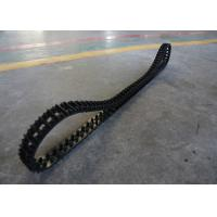 Buy cheap 1.25kg High Friction Robot Rubber Tracks Easy To Change Size 50 X 25 X 101 from wholesalers