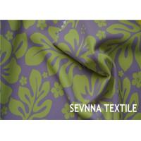 Quality Floral Designs Recycled Lycra Fabric Customized Fabric Knit Warp Knitting for sale