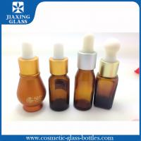 Buy cheap Glass Silk Screen Printing Empty Essential Oil Bottle With Rubber Glass Dropper 1oz from wholesalers