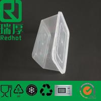 Buy cheap Disposable Takeaway Plastic Container with Lids (RHA750) from wholesalers