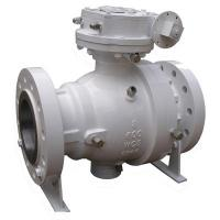 Buy cheap 2 Pieces 12 Inch  Ball Valve  Gear Operator A216WCB Body 150LB ISO 9001 Certification from wholesalers