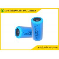 Buy cheap CR123A 3v Lithium Battery , CR123A Industrial Lithium Battery 1500mah from wholesalers