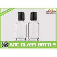 Buy cheap Wholesale White 30ml Roll On Glass Bottle With Roller, Bottle Roll-on, Clear product