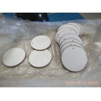 Buy cheap 43x2mm Round Piezoelectric Ceramic Discs Positive and Negative in the Opposit Side from wholesalers