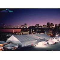 Buy cheap Curved  Outdoor Event Tent With White PVC Fabric For Exhibiton Party from wholesalers