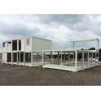 Buy cheap Glass Wool Modular Container Homes Two Stories For Large Construction Site from wholesalers