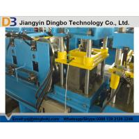 Durable Using Metal Ridge Caps Roll Forming Machine Driven by Chain