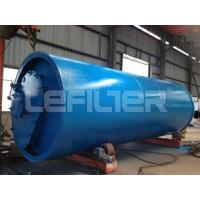 Buy cheap waste tire pyrolysis plant with 10 tons capacity from wholesalers