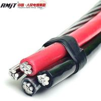 Buy cheap Duplex AAAC conductor Triplex ACSR cable price of abc aerial bundle cable from wholesalers