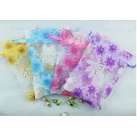 Buy cheap organza gift pouch organza drawstring pouch from wholesalers
